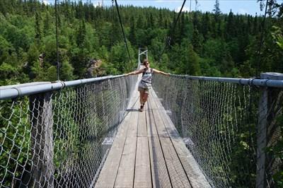 Josée sur le pont