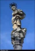 Image for Immaculata on Marian Column / Immaculata na mariánském sloupu - Zásmuky (Central Bohemia)