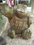 Image for Chainsaw Carved Turtle - Eureka Springs AR