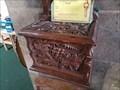 Image for Church donation box - St Helen - Colne, Cambridgeshire, UK