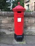 Image for Victorian Pillar Box - Holyrood Park Road, Edinburgh, Lothian, UK