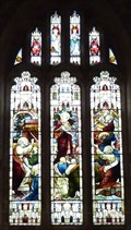 Image for Stained Glass - All Saint's Church, Spofforth, N Yorks, UK.