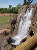 Image for OKC Zoo Pachyderm Exhibit Waterfall - OKC, OK