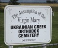 Image for Assumption of the Virgin Mary Ukrainian Greek Orthodox Cemetery - Dufrost MB