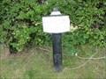 Image for Trent & Mersey Canal Milepost - Bostock Green, UK