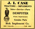 Image for BICK IMPLEMENT -- York, NE -- 1949