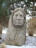 Image for Indian Bust Near Medina, OH