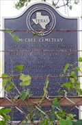 Image for McCree Cemetery