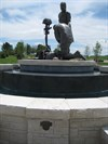 Armed Forces Tribute Garden Fountain