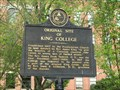 Image for Original Site of King College - Bristol, TN