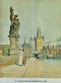 Image for Statuary of St. Luthgard  by Vaclav Jansa - Prague, Czech Republic
