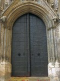 Image for Doorway of the old town hall in Regensburg - Bavaria / Germany