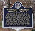 Image for Whitaker Cemetery Madison County - New Hope, AL