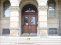 Image for Doorway of Van Buren County Courthouse - Paw Paw, Michigan