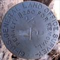 Image for GLO Quarter Section Corner Marker T19N R6E S18 on western boundary