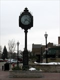 Image for Seth Thomas town clock, Crystal Lake, IL