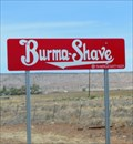 Image for Historic Route 66 - Burma Shave Signs - California, USA.