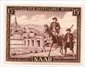 Image for Alte Brücke und Schlosskirche - Stamp Day 1951- Saarbrücken, Germany