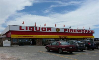 Porter's Fireworks and Firewater - Evanston, Wyoming - Humorous ...