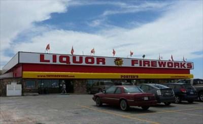 Porter's Fireworks and Firewater - Evanston, Wyoming - Humorous ...