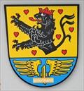 Image for Wappen der Gemeinde am Bürgerhaus - Neuenmarkt/BY/Germany