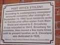 Image for Post Office Stolen!! - Cushing, OK