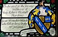 Image for Harding Coat of Arms - St Editha's church - Bavetstock, Wiltshire