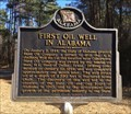 Image for First Oil Well In Alabama - Gilbertown, AL