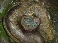 Image for Round Brown Fairy Door - Portpatrick, Scotland, UK