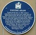 Image for Eugene Aram, White Horse Yard, Park Square, Knaresborough, N Yorks