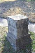 Image for US-Choctaw Nation Boundary Stone -- Ft Smith AR