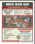 Image for Breck Trade Days - Breckenridge, TX