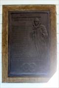 Image for Robert Lewis Stevenson, Plaque on Stevenson Mem. Cottage - Harrietstown, NY