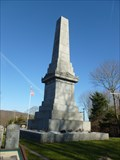 Image for Captain Nathan Hale Monument - Coventry, CT