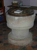 Image for Font, St Mary's Church, Billingsley, Shropshire, England