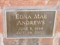 Image for 101 - Edna Mae Andrews - Rose Hill Burial Park - OKC, OK