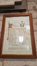 Image for Roll of Honour - St James - Snitterfield, Warwickshire