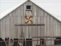 Image for Old Weathered Barn Quilt - rural Clinton, IA