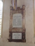 Image for Combined WWI and WWII memorial tablet - St Agnes - Cawston, Norfolk