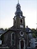 Image for Bell tower Ev. Stadtkirche / Monschau, NRW, Germany