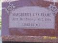 Image for 102-Marguerite Kirk Frame-Aztec NM