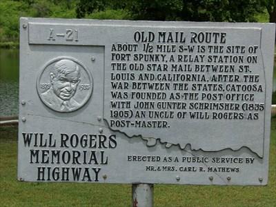 veritas vita visited Old Mail Route