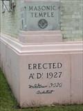 Image for 1927 - Masonic Temple - Port Arthur, TX