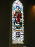 Image for Memorial Window, Rev. Sharpe. Holy Trinity Church, Elsecar, South Yorkshire, UK.