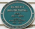 Image for Robert Browning - Warwick Crescent, London, UK
