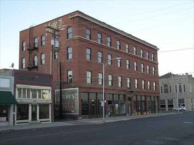 Antlers Hotel Baker City Historic District Oregon Nrhp Districts Contributing Buildings On Waymarking