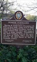 Image for PIONEER FURTRADER Historical Marker - Klamath Falls, OR