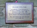 Image for Spanish Civil War Plaque, Barnsley, South Yorkshire, UK