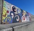 Image for Swirls - Mural - Eisenhower Pier, Bangor, Northern Ireland.