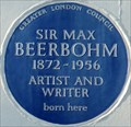 Image for Sir Max Beerbohm - Palace Gardens Terrace, London, UK